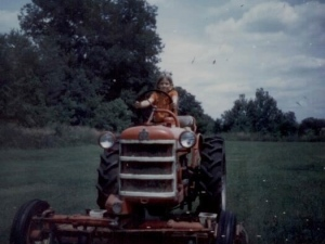I loved visiting my grandparent's farm in Ohio.