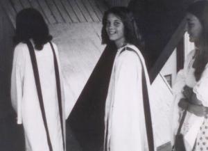 My Catholic confirmation ceremony.