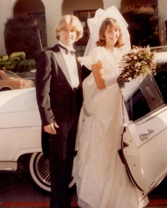 Hubby and me, 1983.