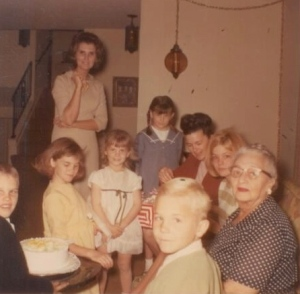 Family Party in the 1960's.