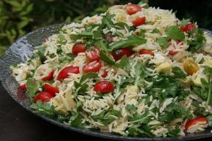 Maili's Orzo Arugula Salad