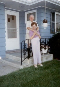 Grandma Grace with Grandpa Bill in Iowa.