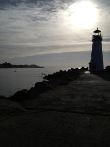 Santa Cruz Harbor.
